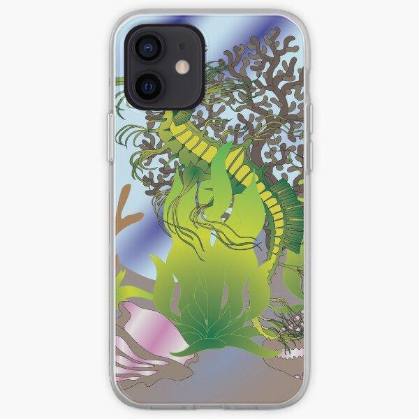A leafy Sea Dragon iPhone Soft Case