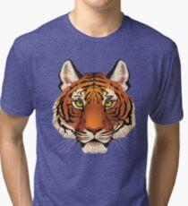 Tiger Face Tri-blend T-Shirt