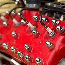 Red Flathead V8 by Norman Repacholi