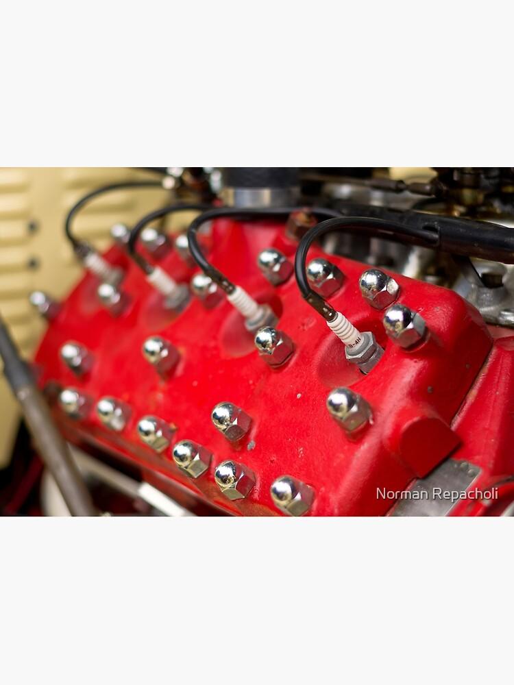 Red Flathead V8 by keystone