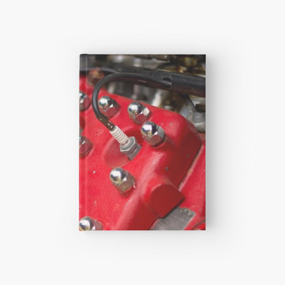 Red Flathead V8 Hardcover Journal