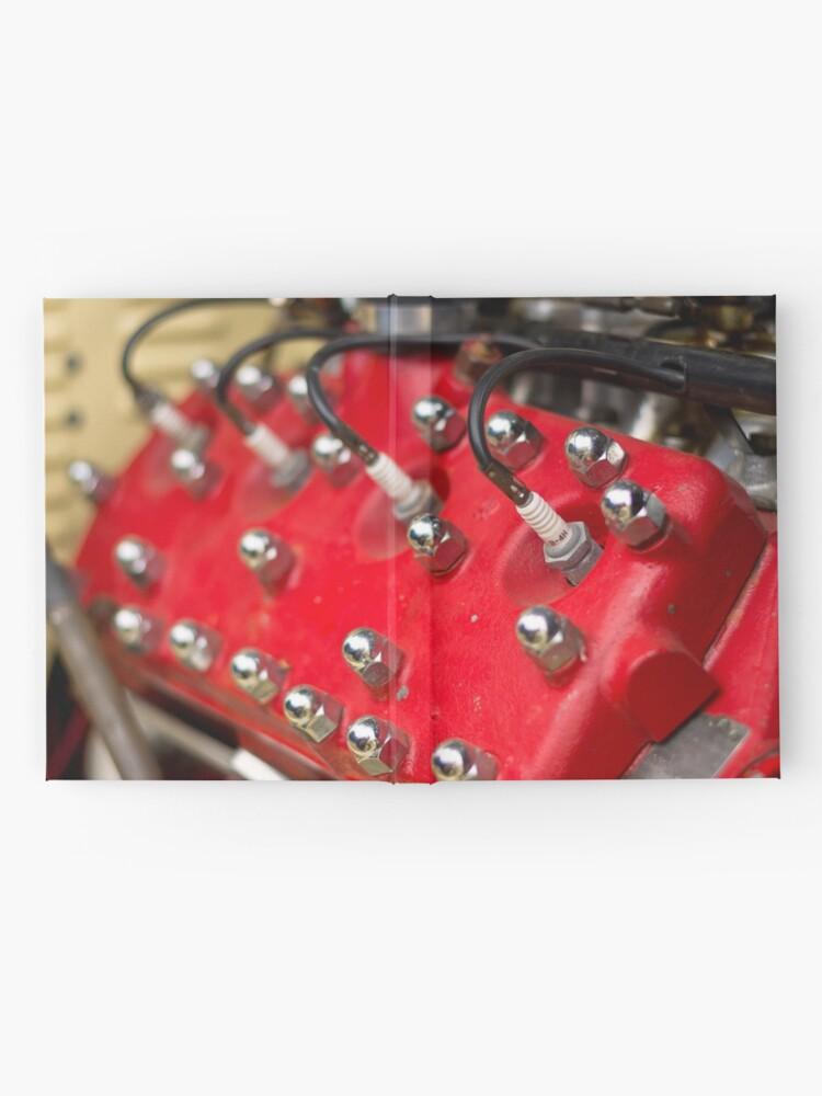 Alternate view of Red Flathead V8 Hardcover Journal