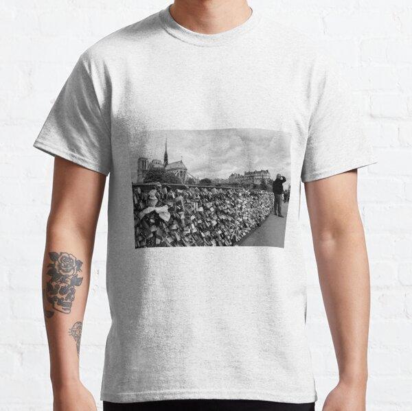 Locking for Love - Paris, France Classic T-Shirt