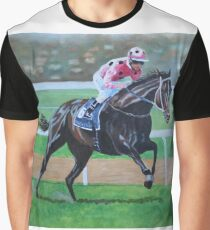 Black Caviar wins the Lightning Stakes Graphic T-Shirt