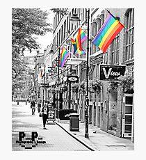Colour Splash Canal Street Photographic Print