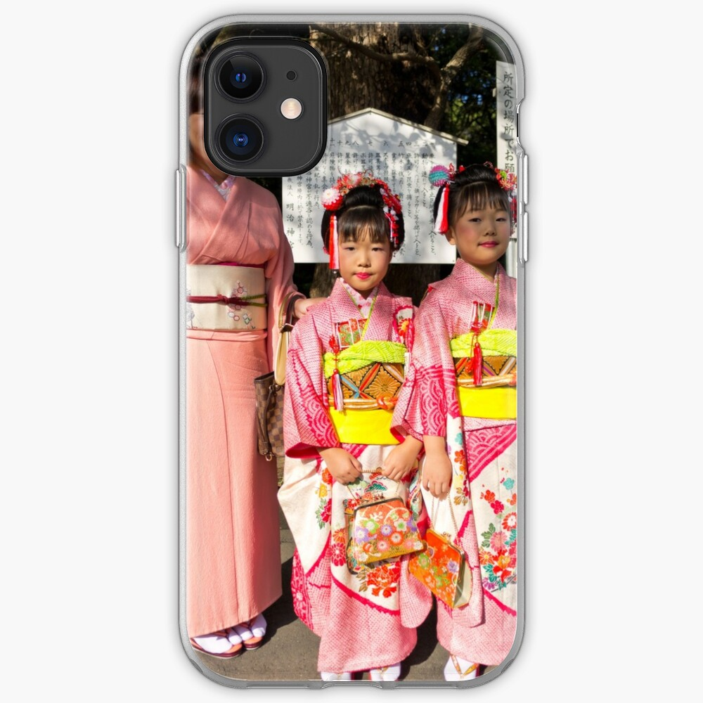 Shichi-Go-San Festival – Image 03, Japan iPhone Case & Cover