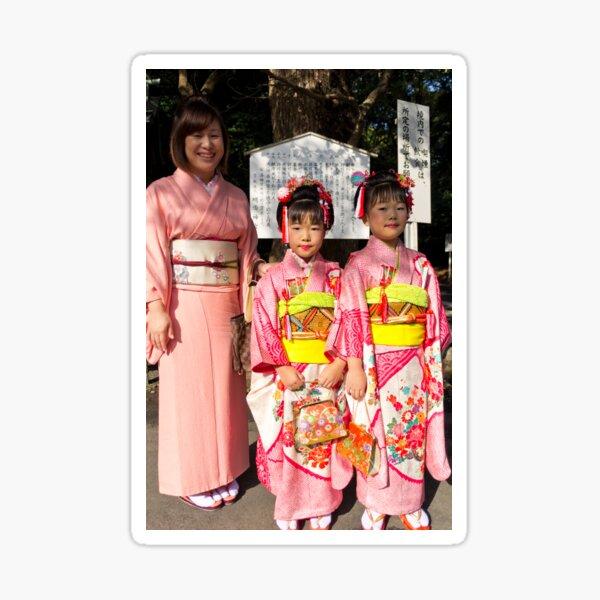 Shichi-Go-San Festival – Image 03, Japan Sticker