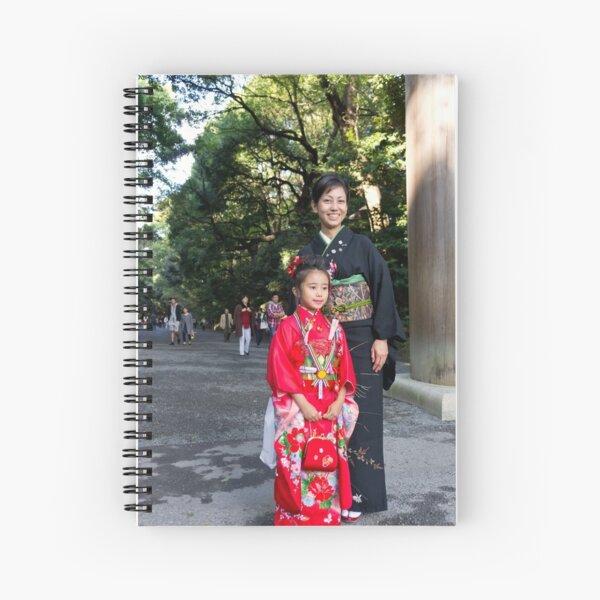 Shichi-Go-San Festival – Image 02, Japan Spiral Notebook