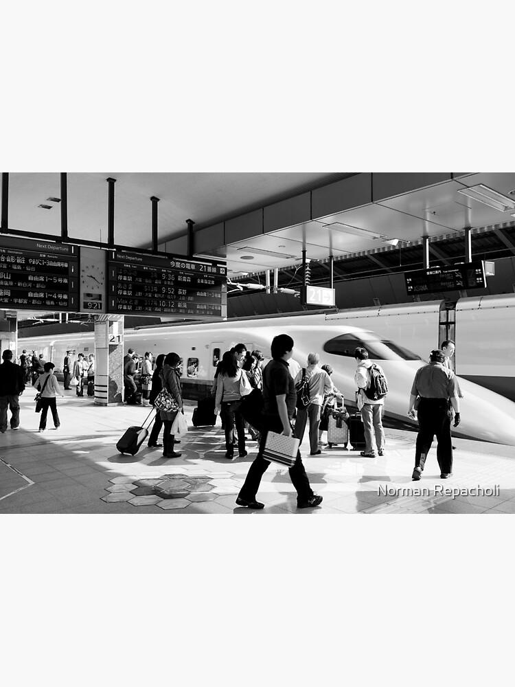 9:36 Shinkansen for Hayabusa - Tokyo, Japan by keystone