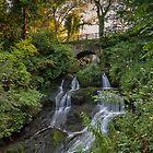 Rouken Glen Waterfall by Glaspark