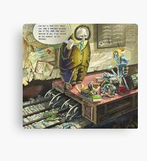Profound Lessons Canvas Print