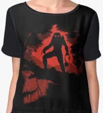 Jungle Hunter Predator Chiffon Top
