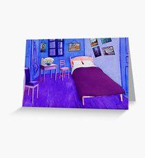 Cold Neo Bedroom in Arles Greeting Card