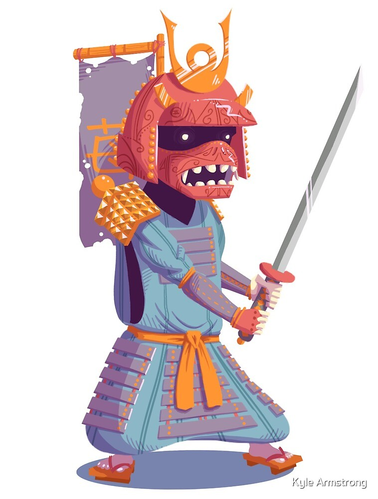 The Steady Strawberry Samurai by Kyle Armstrong