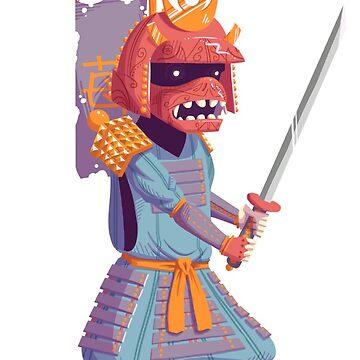The Steady Strawberry Samurai by kyle-sans-kyle