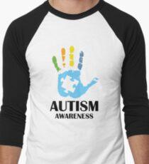 Autism Awareness Men's Baseball ¾ T-Shirt