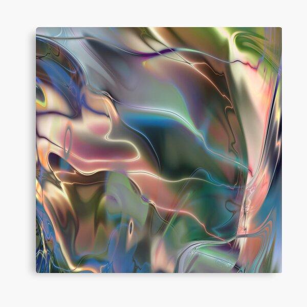 Neon Marble Canvas Print