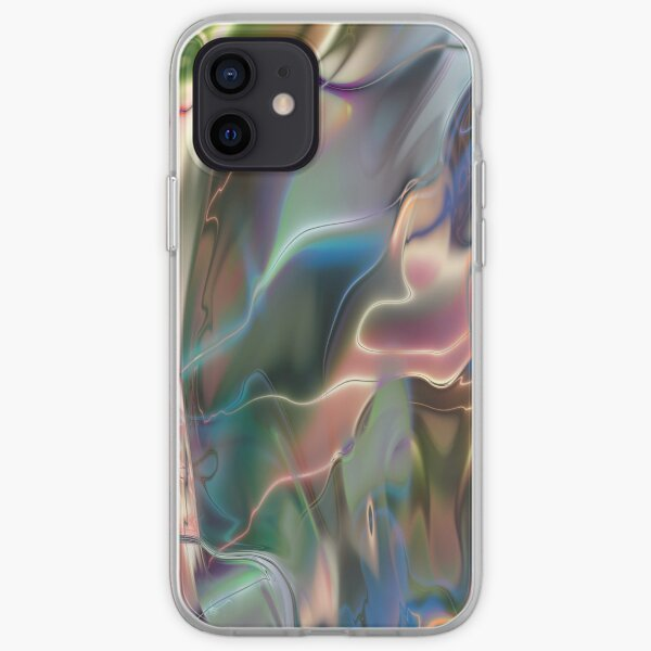Neon Marble iPhone Soft Case