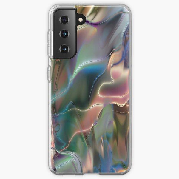 Neon Marble Samsung Galaxy Soft Case
