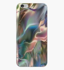 Neon Marble iPhone Case