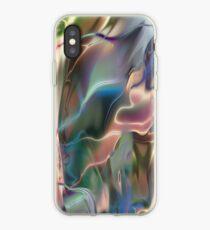 Neon Marble iPhone Case