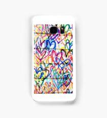 Hearts 2 Samsung Galaxy Case/Skin