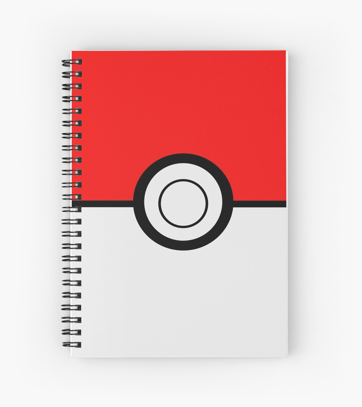 Quot Pokemon Ball Quot Spiral Notebooks By Umeimages Redbubble