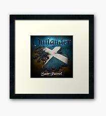 Outlander Maps Framed Print