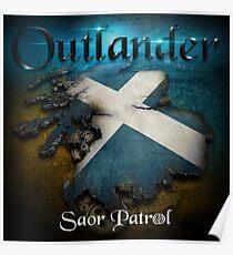 Outlander Maps Poster