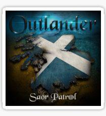 Outlander Maps Sticker