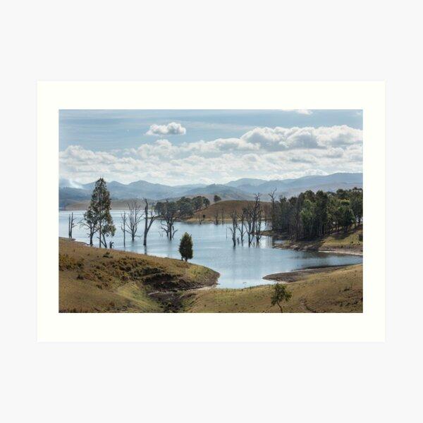 Lake St Clair, Singleton NSW Australia Art Print