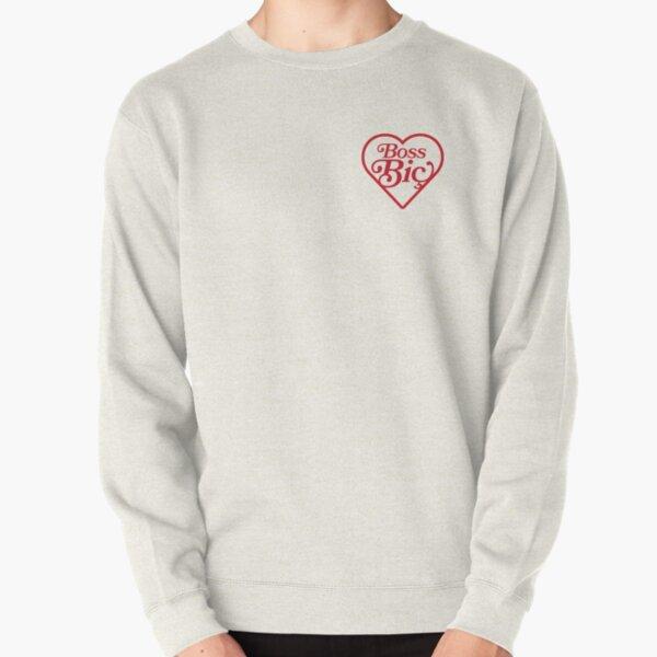 Boss Bic Heart Pullover Sweatshirt