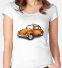 VW Beetle Women's Fitted Scoop T-Shirt