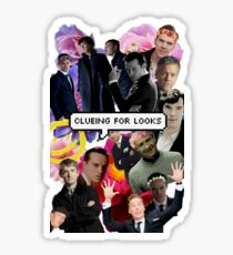 Clueing For Looks Collage Sticker