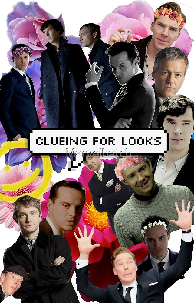 Clueing For Looks Collage by Marvelbatch