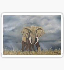 Masai Mara Bull Elephant Sticker