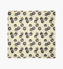 Ghibli Inspired Soot Sprites with Candy Pattern Scarf