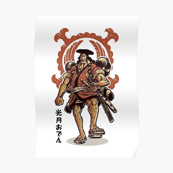 kozuki oden wano kunio une pièce Poster