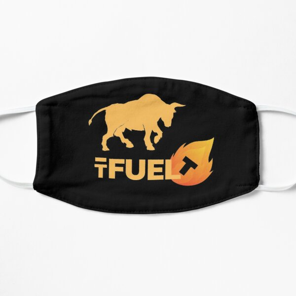 TFUEL bull crypto Coin shirt, etc. Flat Mask