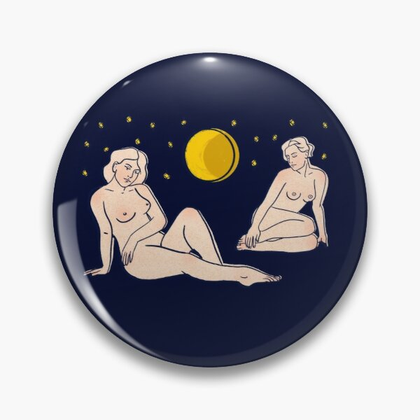 Moonlight ladys Pin