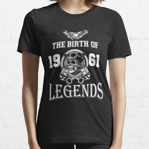 1961-EL NACIMIENTO DE LAS LEYENDAS Camiseta esencial