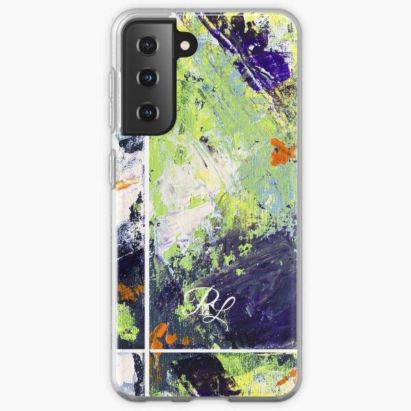 Green Abstract Samsung Galaxy Soft Case