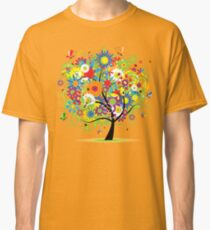 Floral tree summer Classic T-Shirt