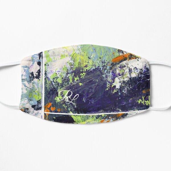 Green Abstract Flat Mask