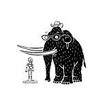 Frozen Mammoth by pixbyrichard