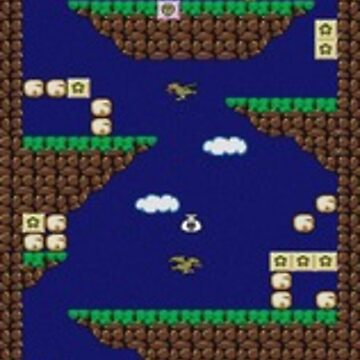 Alex Kidd in Miracle World by lnd310