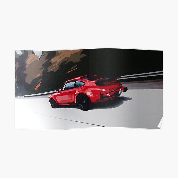 Porsche 911 turbo (930) Poster