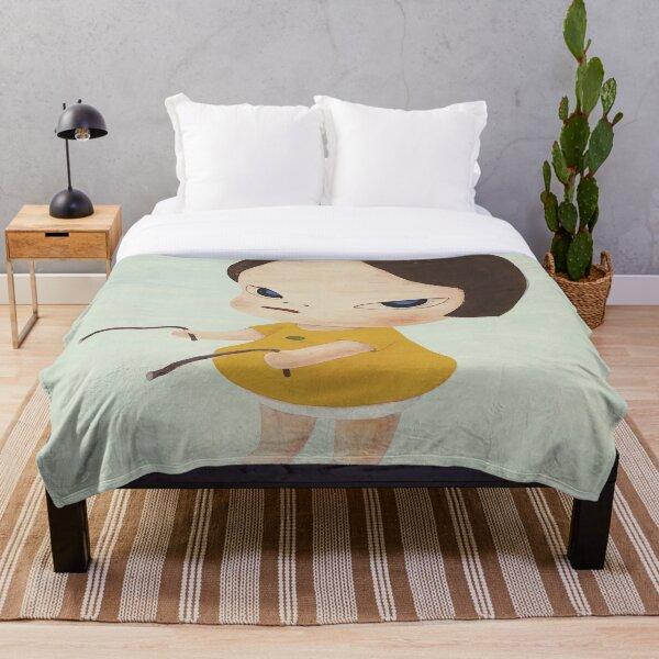 Yoshitomo Nara Throw Blanket