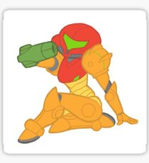 Space Hunter Pin-Up Sticker