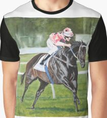 Black Caviar wins the T J Smith stakes Graphic T-Shirt